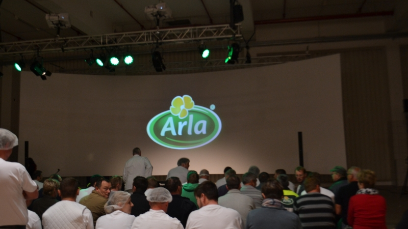 Kick-off SAP-trainingen bij Arla Foods Germany