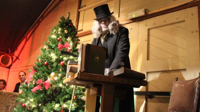 Kerstfeest Dickensstijl
