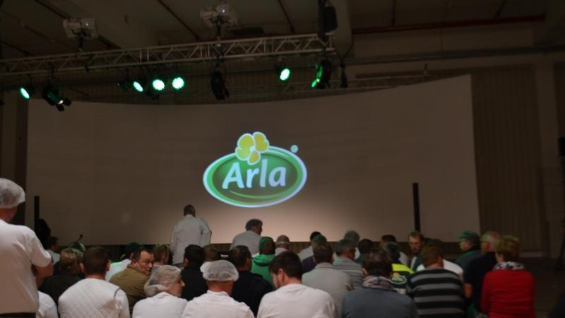 Kick-off SAP-trainingen bij Arla Foods Germany