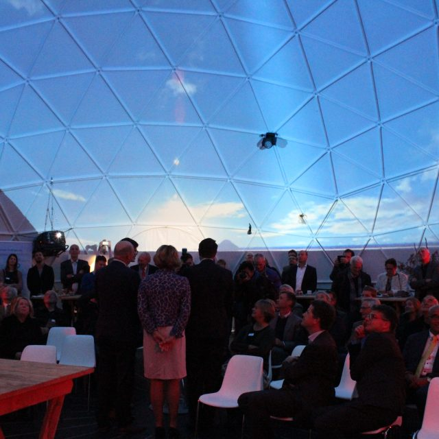 Dome projectie HVC