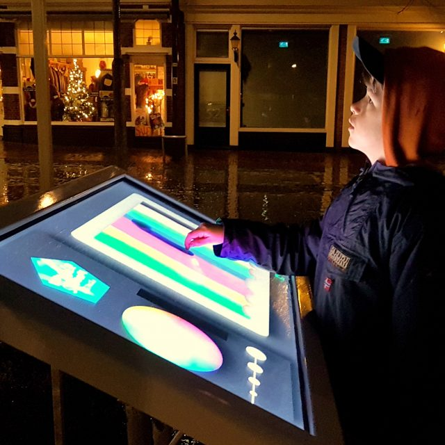Interactieve videomapping Festival Wonderstroom